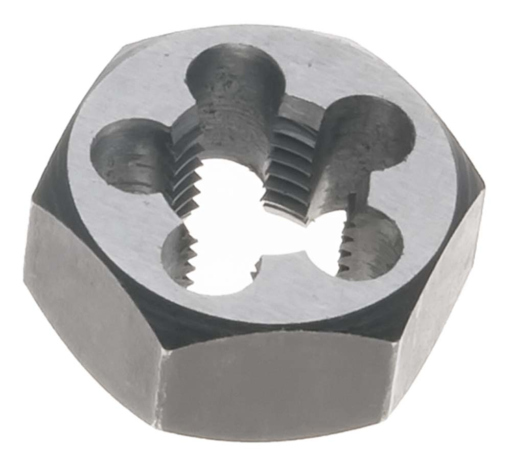 6mm x 1.0 Metric Hex Rethreading Die - Carbon Steel
