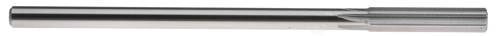 "19/64"" Straight Shank Chucking Reamer, Straight Flute, High Speed Steel"