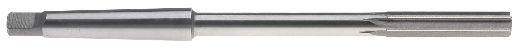 "1-1/2"" Taper Shank Machine Reamer, Straight Flute, High Speed Steel"