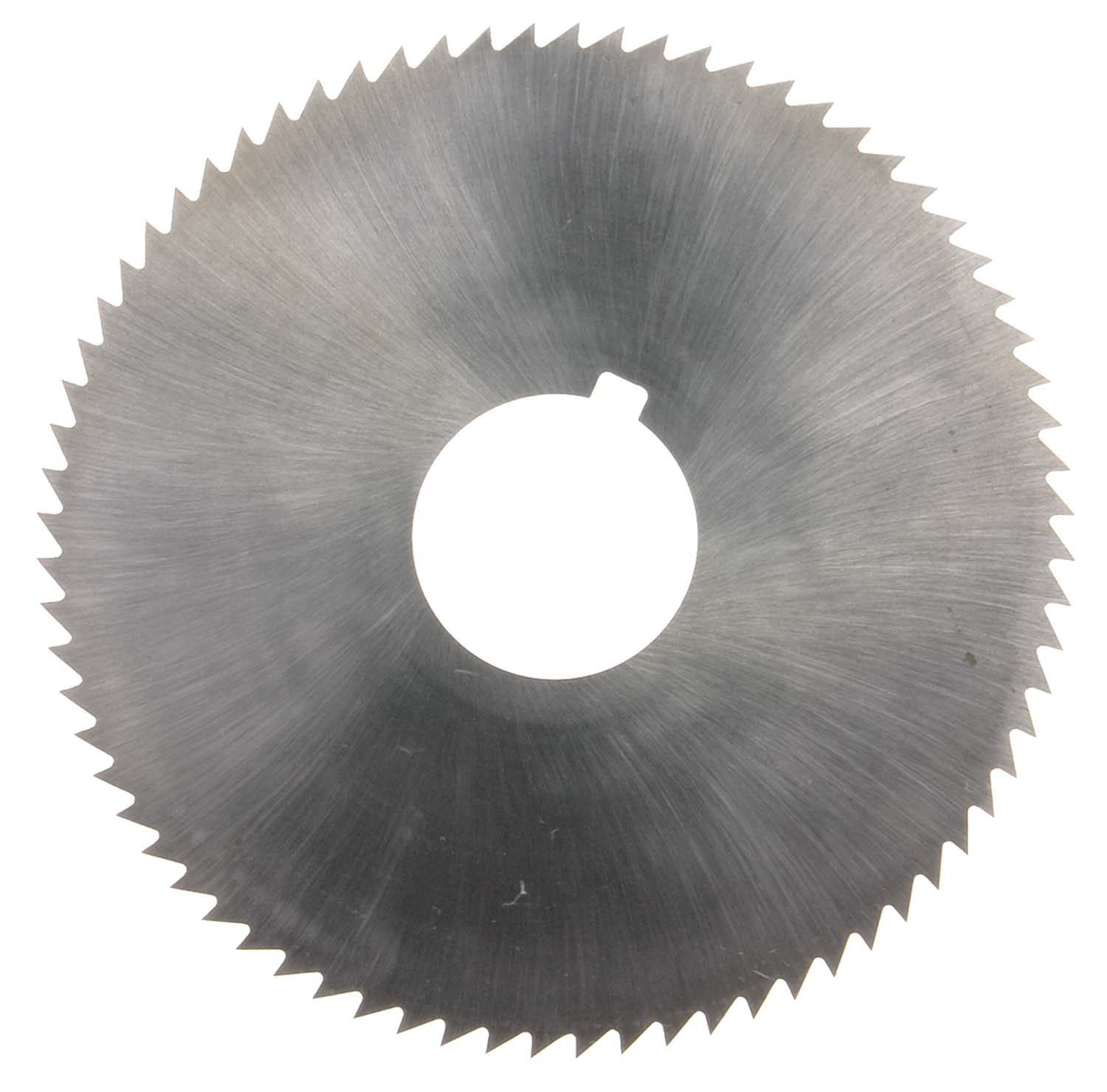 "2-3/4"" OD X .072 Thick X 1"" ID Screw Slotting Saw, High Speed Steel"