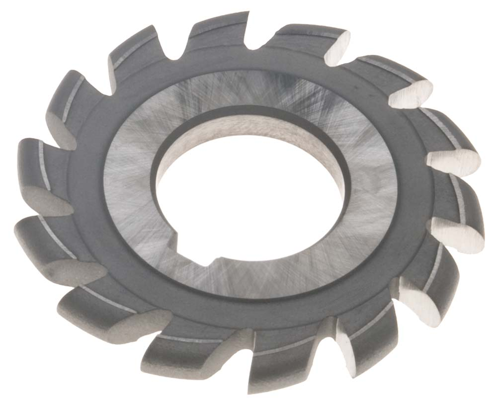 "1-1/8"" Circle Diameter x 1-1/4"" ID Convex Milling Cutter, High Speed Steel"