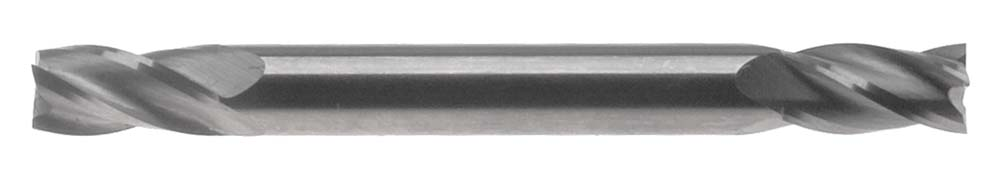 "E500-1/4  1/4"" 4 Flute Double End USA Carbide End Mill"