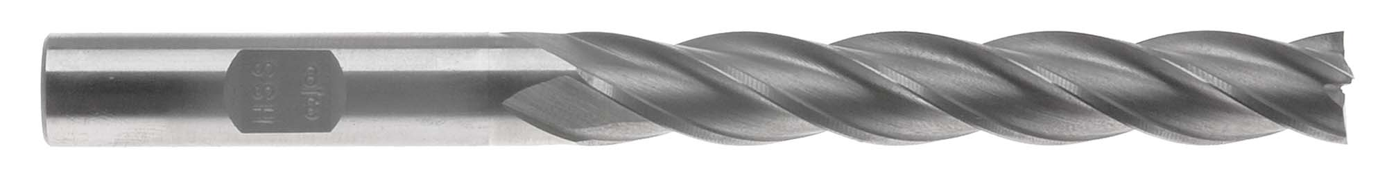 "EM-FX12  3/8"" 4 Flute Extra Long End Mill- 3/8"" Shank, High Speed Steel"