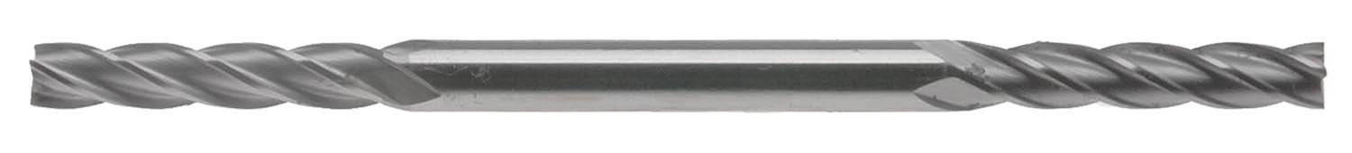 "EM-BX1164  11/64"" 4 Flute Long  Double End Mill, 3/16"" Shank, High Speed Steel"