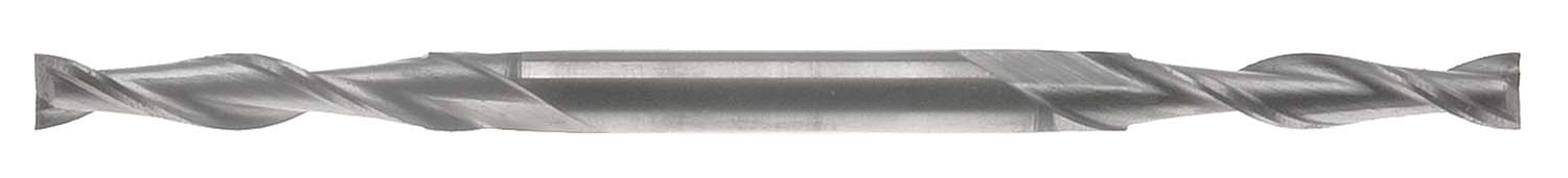 "EM-CX3  3/32"" 2 Flute Long  Double End Mill, 3/16"" Shank, High Speed Steel"