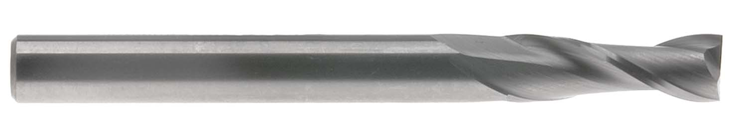 "1/16"" 2 Flute Single End USA Carbide End Mill, TiAlN Coated"