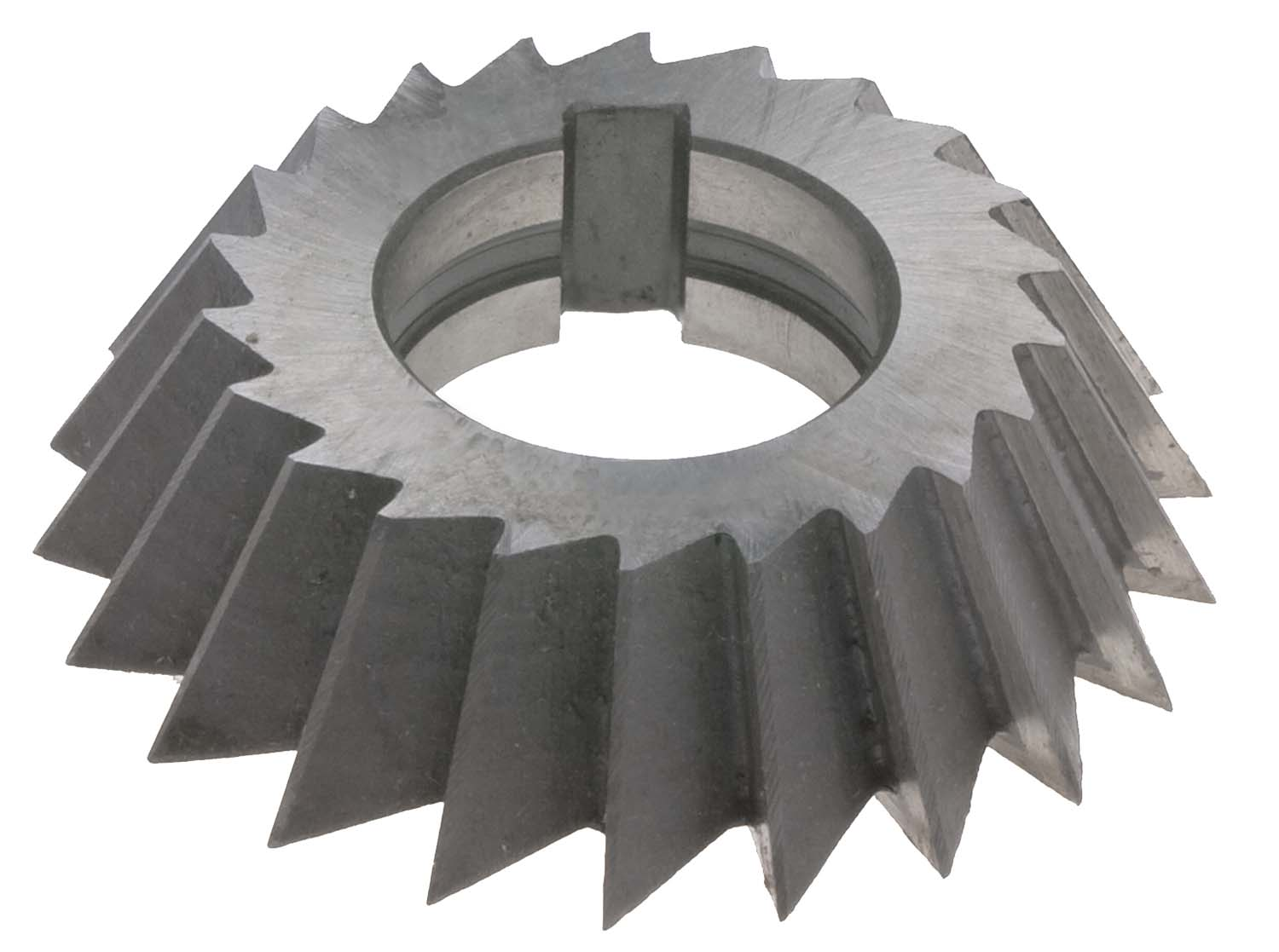 "4 X 3/4 X 1-1/4""  Right Hand 60 Degree Single Angle Cutter, High Speed Steel"