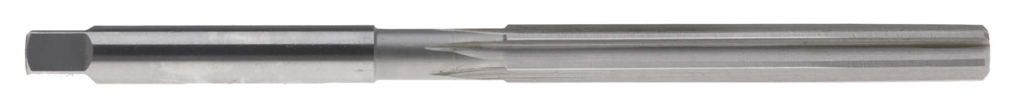 "7/16"" Straight Flute Hand Reamer, High Speed Steel"