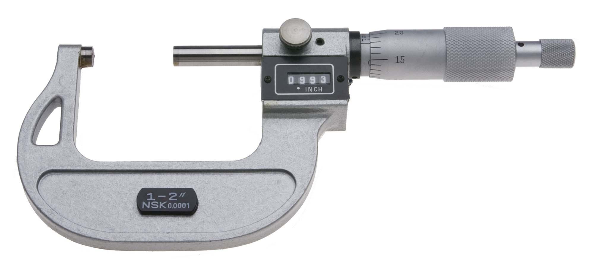 "1-2"" NSK Digital Micrometer"