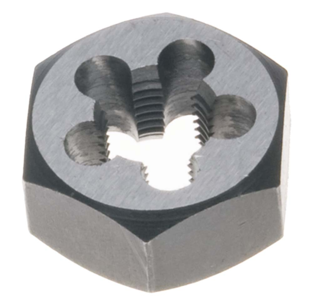 #8 -36  Hex Rethreading Die - Carbon Steel