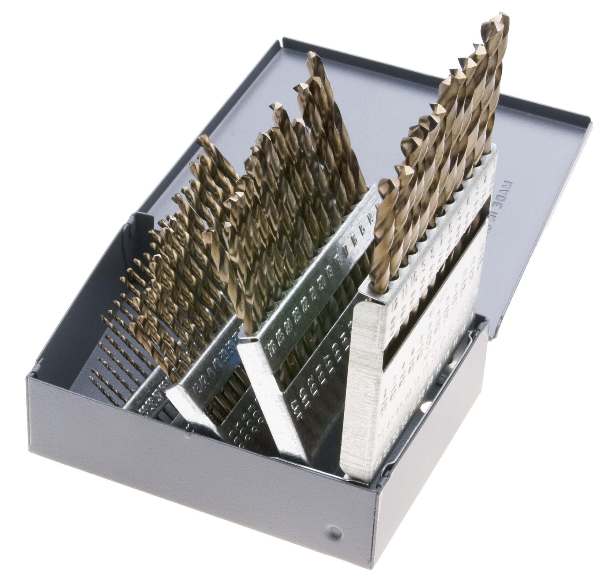 A-Z VME 26 Piece Cobalt Jobber Drill Bit Set in Metal Case