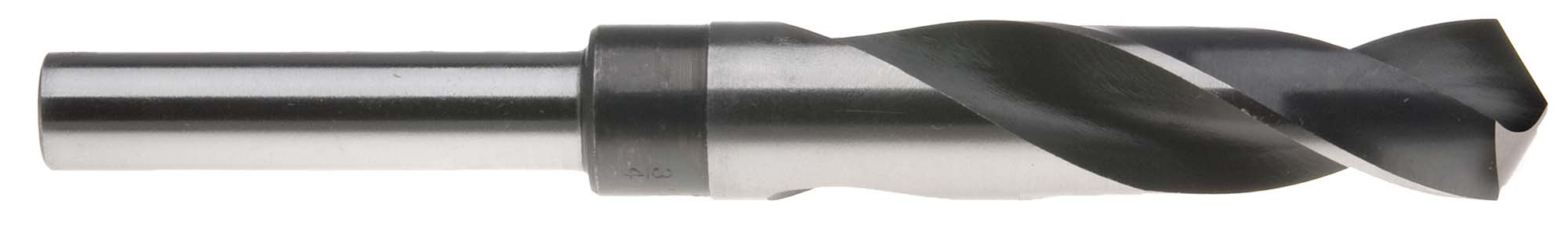 "49/64"" USA Drill Bit with 1/2"" Shank (S+D Type) High Speed Steel"