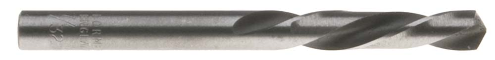 "45/64"" LEFT HAND Screw Machine Drill Bit, High Speed Steel"