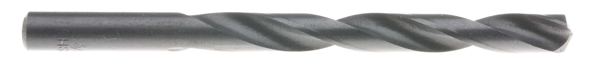 "W (.386"") Heavy Duty Split Point Jobber Drill Bit, High Speed Steel"