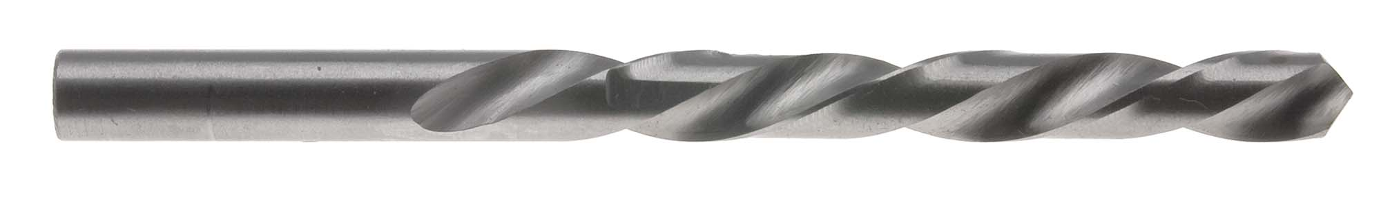 "E (.250"") Left Hand Jobber Length Drill Bit, High Speed Steel (Pack of 6)"