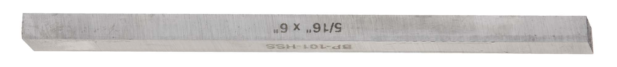 "1/4"" Square X 6"" Long High Speed Steel M2 Tool Bit"