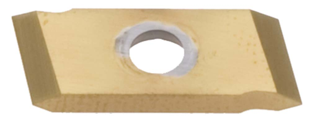 Nikcole GW-55-L 55 Degree TIN Coated Left Hand Threading Insert. Mini grooving system.