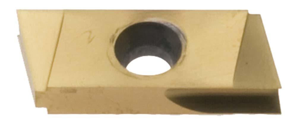 "Nikcole ST-3R-TIN .125"" TIN Coated Right Hand Turning Insert. Mini grooving system."