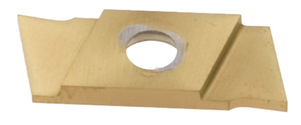 "Nikcole SG-1.85-L .073""/1.85mm TIN Coated Left Hand Grooving Insert. Mini grooving system."