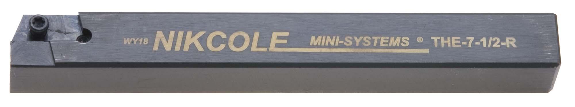 "Nikcole THE-7-1/2-R .500"" Sq. RH Mini-System Tool Holder"