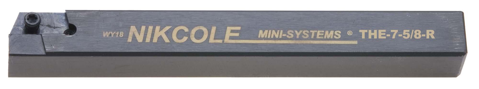 "Nikcole .625"" Sq. RH Mini-System Tool Holder"