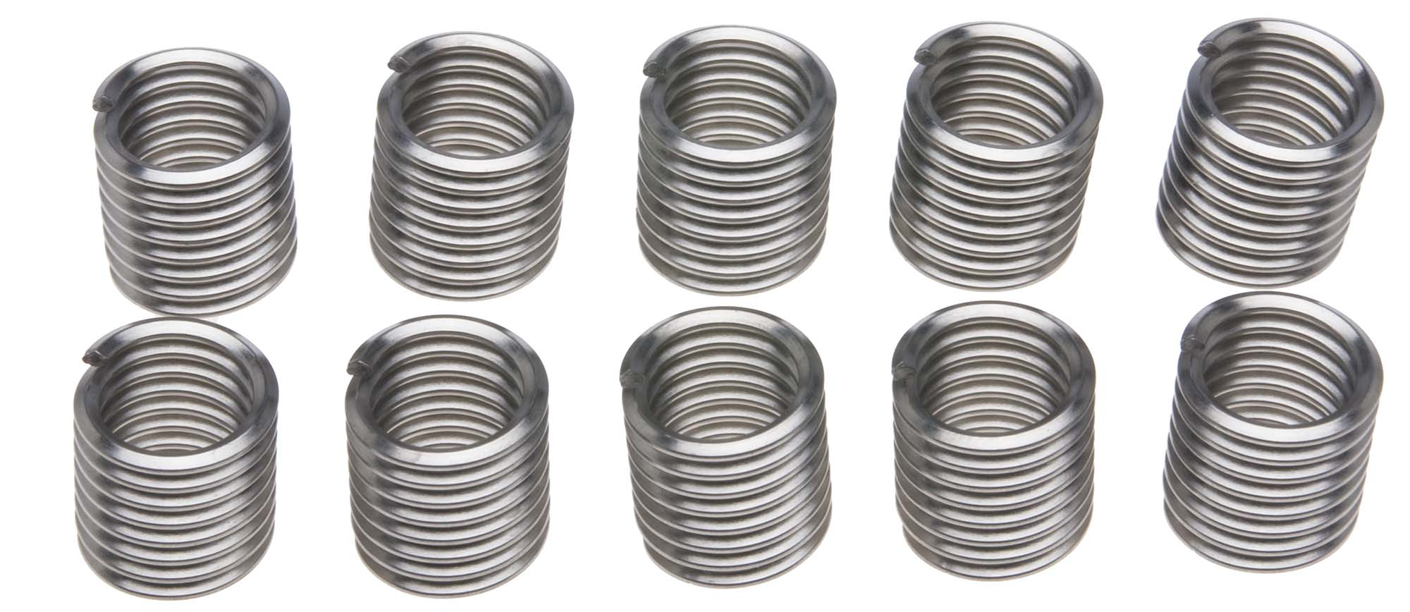 "3/8""-16 Recoil Thread Repair Insert Pack of 10"