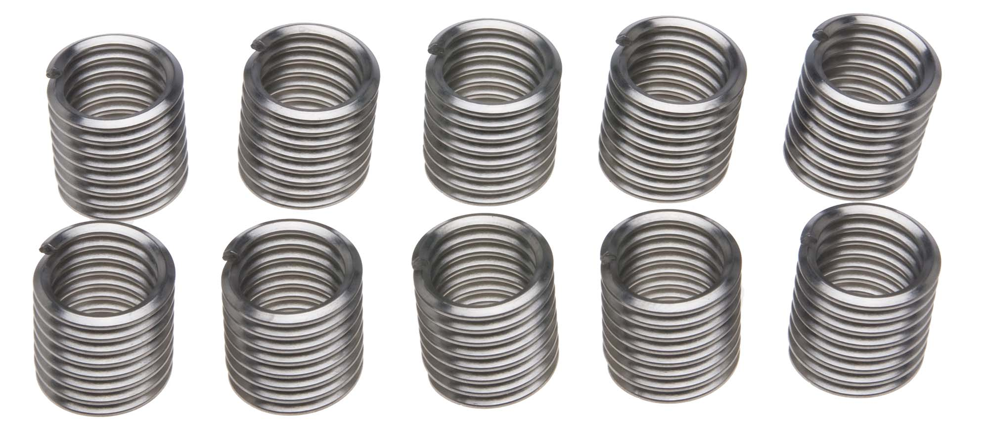 12mm x 1.25 Recoil Thread Repair Insert Pack (10)