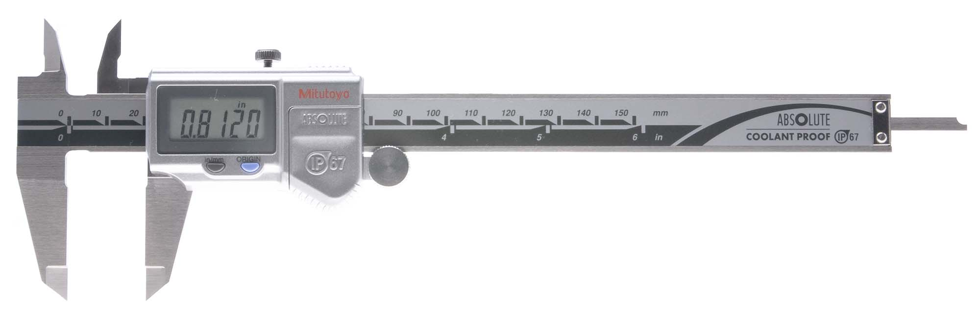 "Mitutoyo 12"" Coolant-Proof Electronic Caliper"