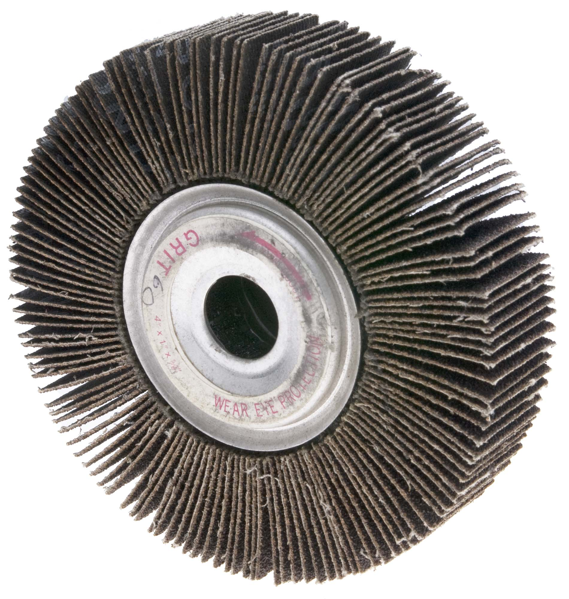 "4"" 80 Grit Unmounted Flap Wheel"