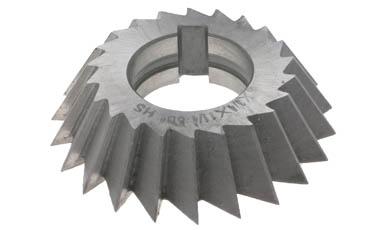"3 x 1//2 x 1/"" x 45º HSS Single Angle Milling Cutter Right Hand"