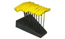 Bondhus T-Handle Straight Hex Key Sets in Stand