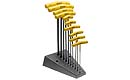 Bondhus Balldriver 10 Piece T-Handle Hex Key Set with Stand